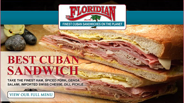 The Floridan Cuban Sandwiches